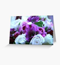 cool colours Greeting Card