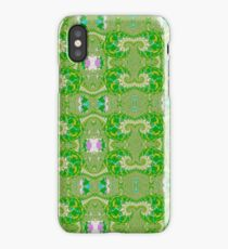 Patterns in Green iPhone Case