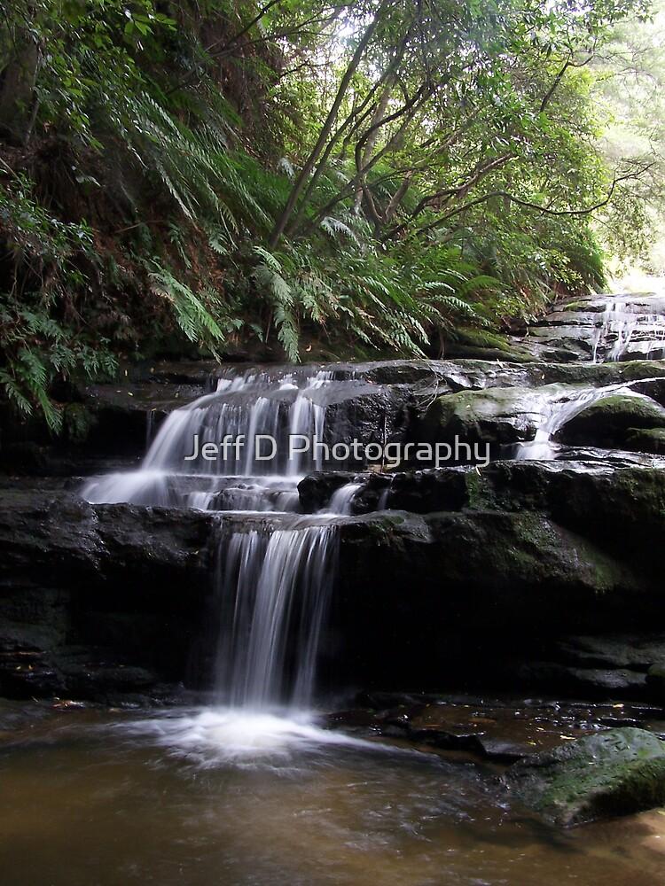 Leura Cascades by Jeff D Photography