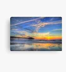 Sunrise in Garden City, SC_1 Canvas Print