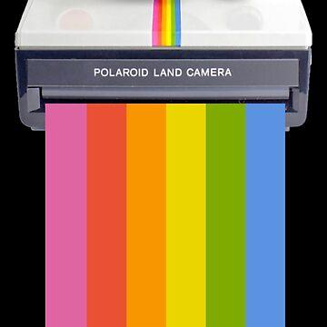 Polaroidkamera T-Shirt T-Shirt von simonZan