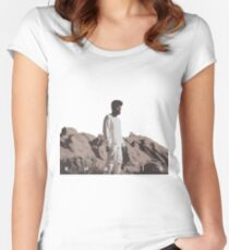 KHALID ALBUM COVER Women's Fitted Scoop T-Shirt