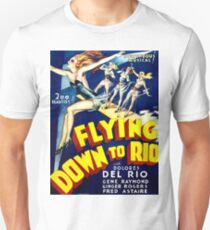 Flying down to Rio, musical, vintage poster T-Shirt
