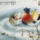 Mandarin Ducks by Thanh Duong