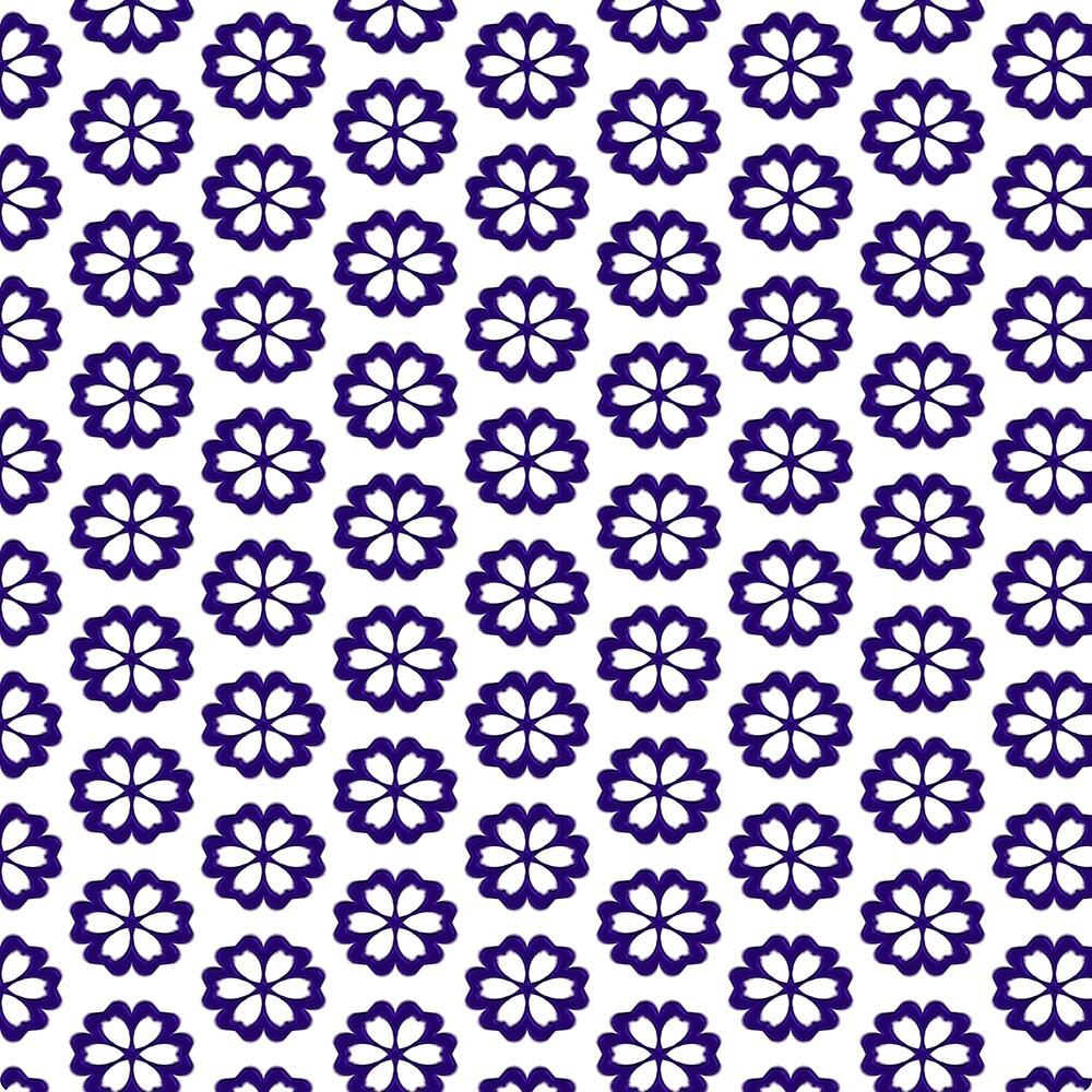 Blue Daisies by boloart