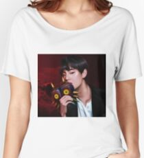 BTS V | BOY MEETS A TERRIBLE FATE  Women's Relaxed Fit T-Shirt