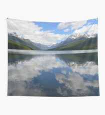 Bowman Lake (Glacier National Park) Wall Tapestry