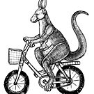 kangaroo love bike by toshibung