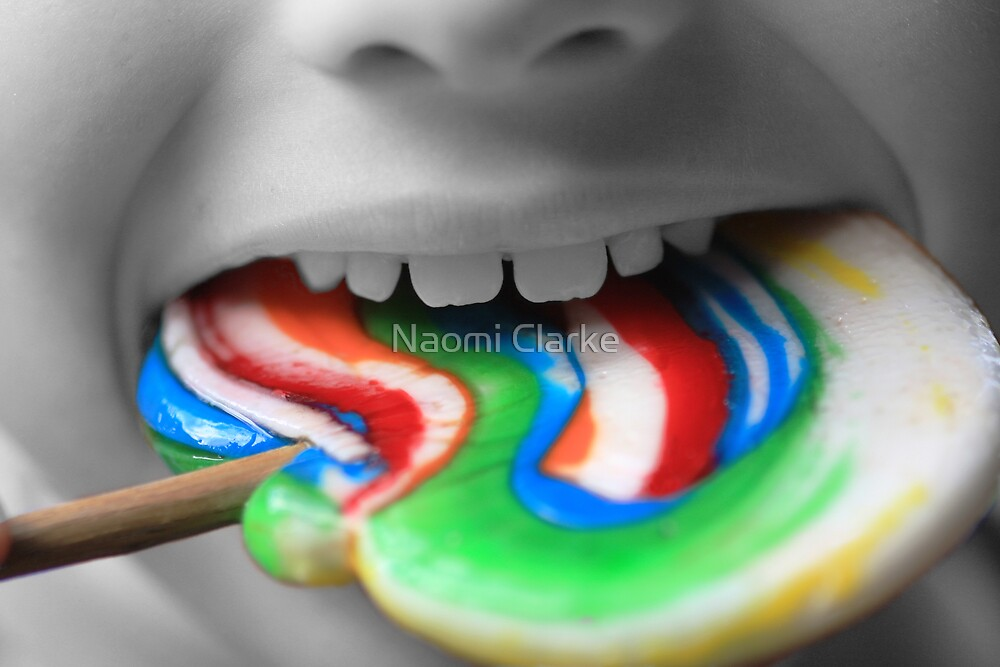 Lollie Pop Delight by Naomi Clarke