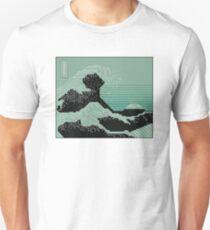 Katsushika Hokusai Electronic Circuit Board Unisex T-Shirt