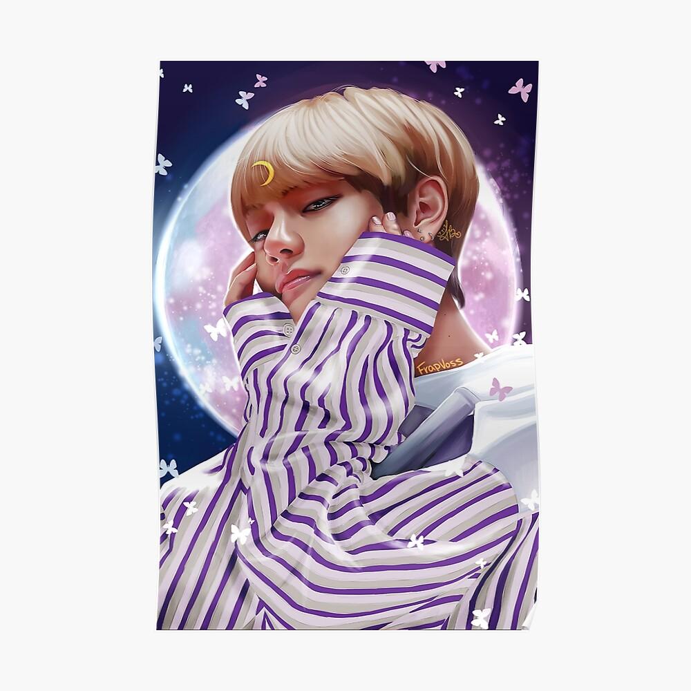 """""""Moon Child"""" BTS V Poster"""