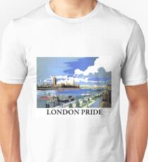 London, Westminster palace,landscape, travel poster Unisex T-Shirt