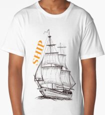 Ship Long T-Shirt