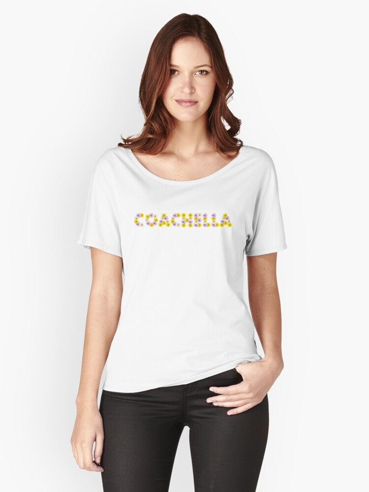Coachella Flowers  Women's Relaxed Fit T-Shirt Front