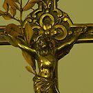 Detail of Grandma's Crucifix by Gilberte