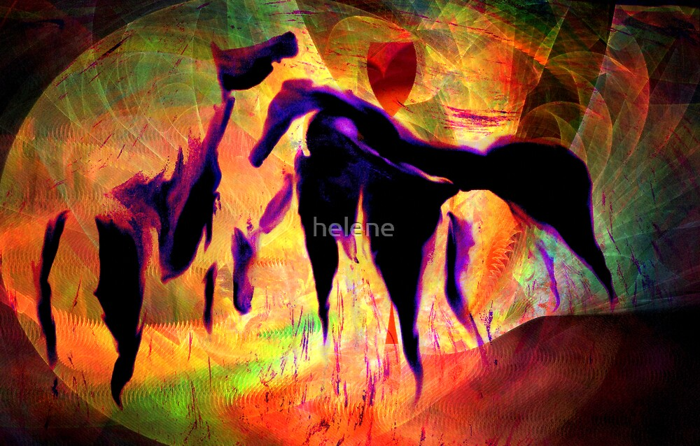 Horses 12 by helene