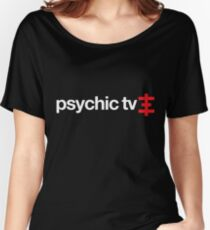 Psychic TV (psychic cross) Women's Relaxed Fit T-Shirt