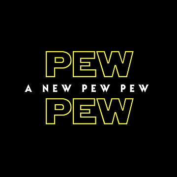 A New Pew Pew by superkickparty