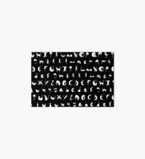 Alphabet Cats Art Board
