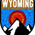 WYOMING MOUNTAINS SUN GRAND TETON YELLOWSTONE JACKSON SKIING PINEDALE CHEYENNE CASPER CODY by MyHandmadeSigns