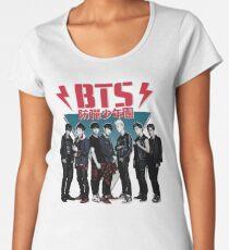 BTS - 80's Vintage (Dark & Wild) Women's Premium T-Shirt