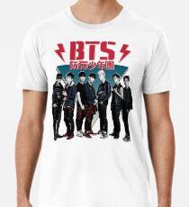 BTS - 80er Jahre Vintage (dunkel und wild) Premium T-Shirt