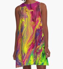 Crazy Colors A-Line Dress