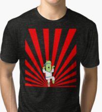 Kung Fu Cactus Tri-blend T-Shirt