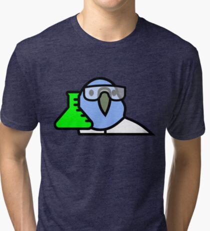 PartyParrot - Science Parrot Tri-blend T-Shirt