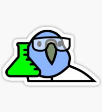 PartyParrot - Science Parrot Sticker