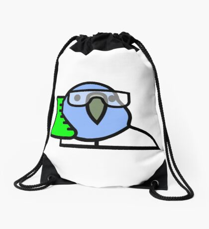 PartyParrot - Science Parrot Drawstring Bag