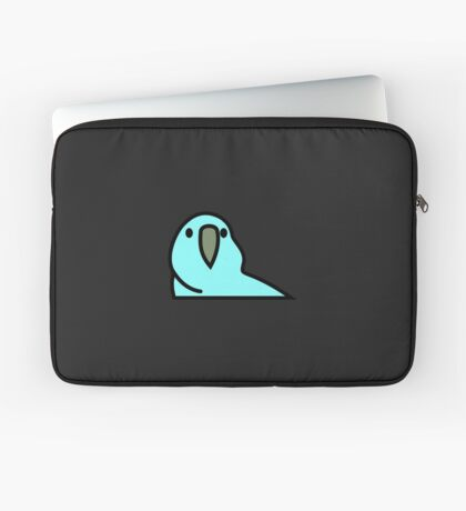 PartyParrot - Light Blue Laptop Sleeve