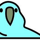 PartyParrot - Light Blue by Korben-Dallas
