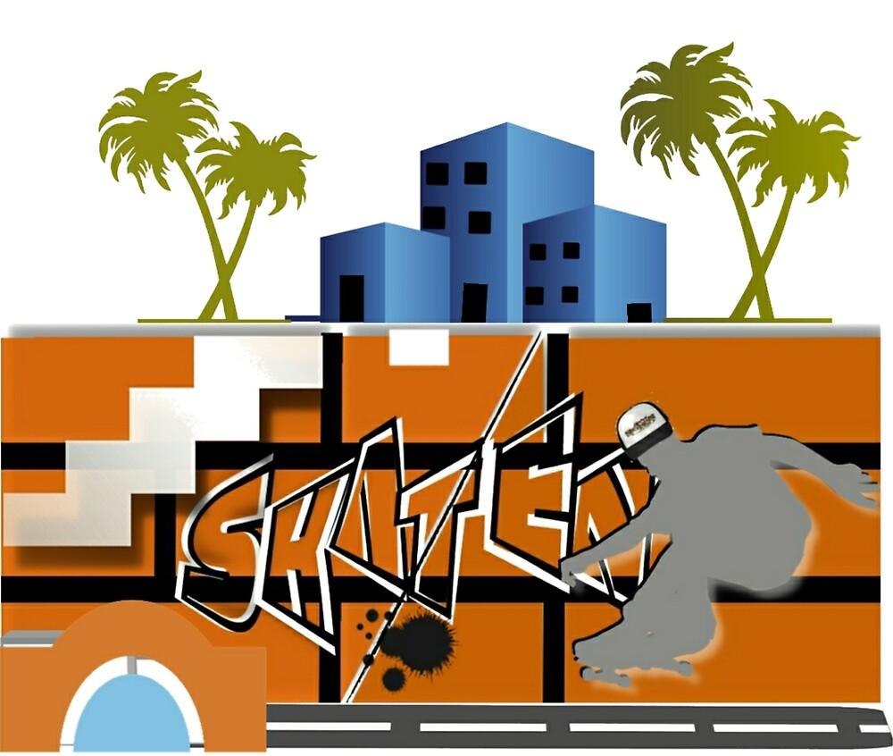 #Streat Skater by Bielmodesign