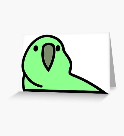 PartyParrot - Green Greeting Card