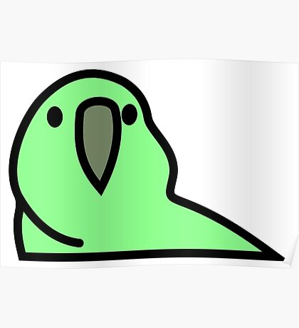 PartyParrot - Green Poster