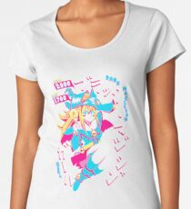 DARK MAGICIAN GIRL (ブラック・マジシャン・ガール) Women's Premium T-Shirt