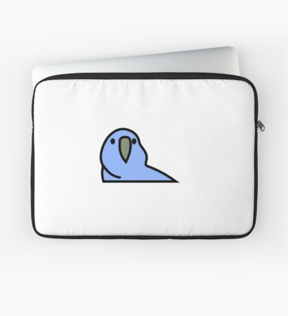PartyParrot - Dark Blue Laptop Sleeve