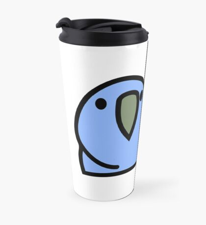PartyParrot - Dark Blue Travel Mug