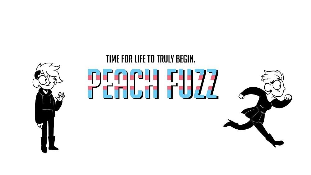 """Peach Fuzz Banner by Christina """"Peaches"""" Cortes"""