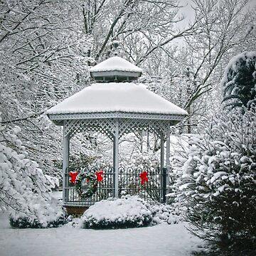 Winter Gazebo by FrankieCat