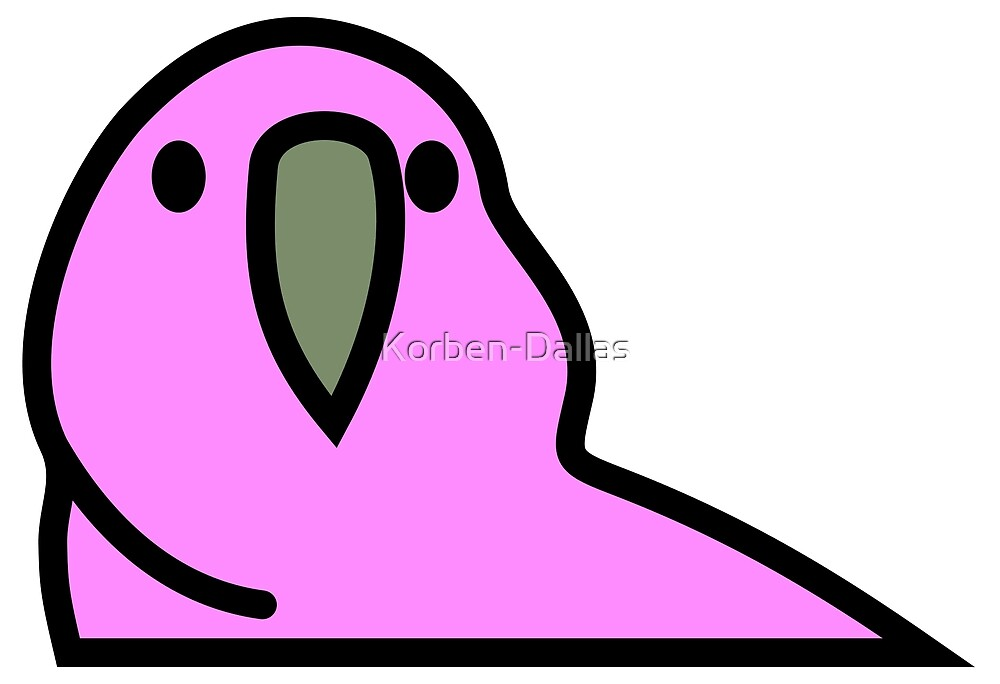 PartyParrot - Pink by Korben-Dallas
