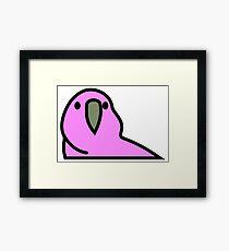 PartyParrot - Pink Framed Print