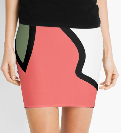 PartyParrot - Red Mini Skirt