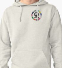 Croc Circle with logo Pullover Hoodie