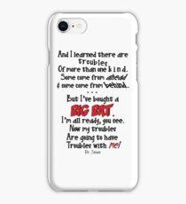 Dr. Seuss Big Bat Quote iPhone Case/Skin
