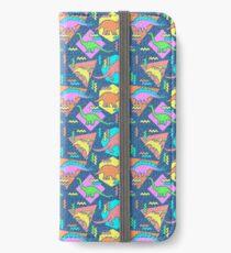 Nineties Dinosaurs Pattern iPhone Wallet/Case/Skin