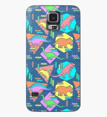 Nineties Dinosaurs Pattern Case/Skin for Samsung Galaxy