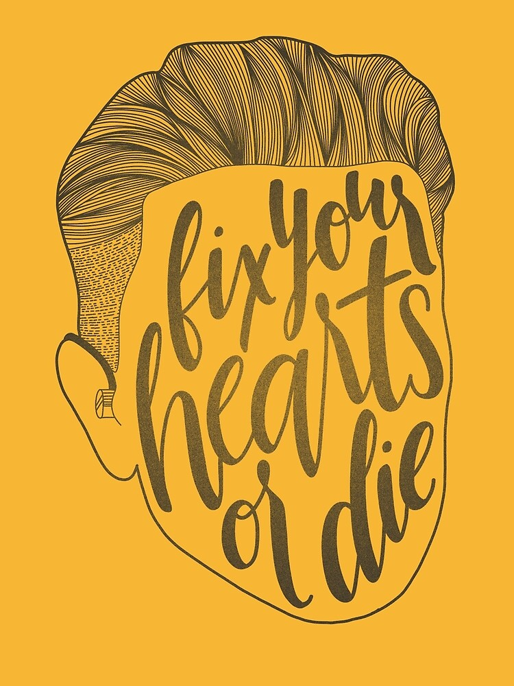 Fix Your Hearts or Die Alternate by Taylor Myers