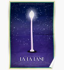 Shining Lamppost Poster